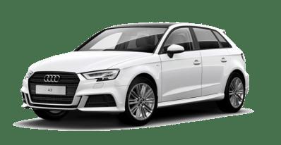 Audi A3 bianca
