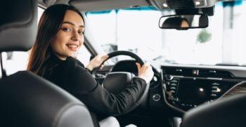 driver donna al volante